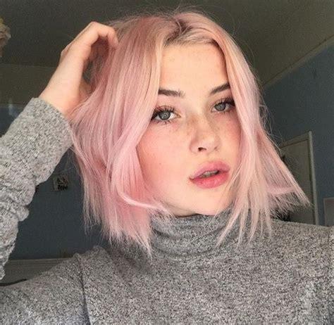 Best 25 Pastel Pink Hair Ideas On Pinterest Rose Hair