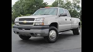 2004 Chevrolet Silverado 3500 Ls 4x4 Duramax Diesel 6