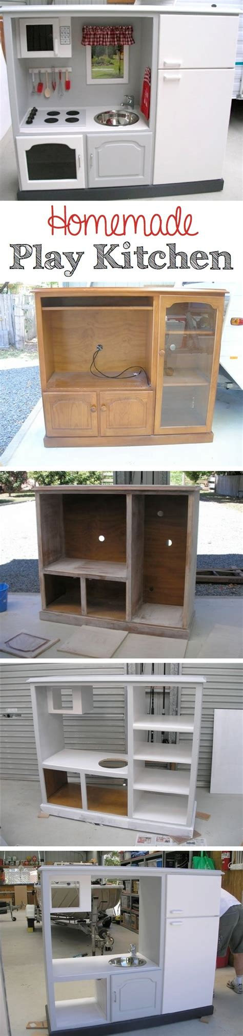 homemade play kitchen  awesome inspiring