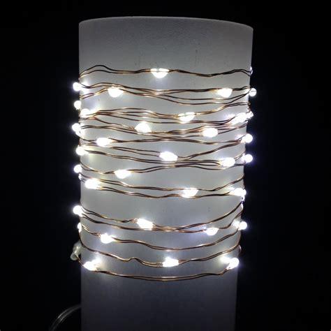 everlasting glow led light strings everlasting glow wire string lights warm white led