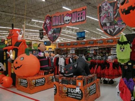 walmart halloween trick  treat aisle display kids