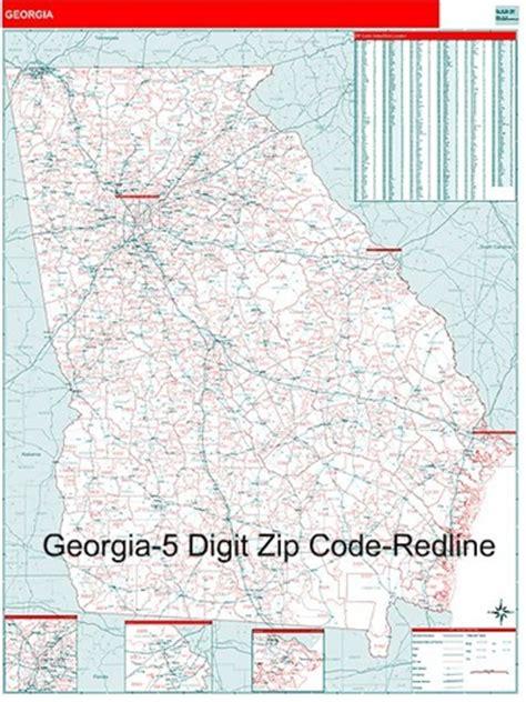 Georgia Zip Code Map From
