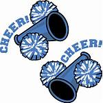 Pom Drawing Poms Cheerleading Gold Clipart Getdrawings