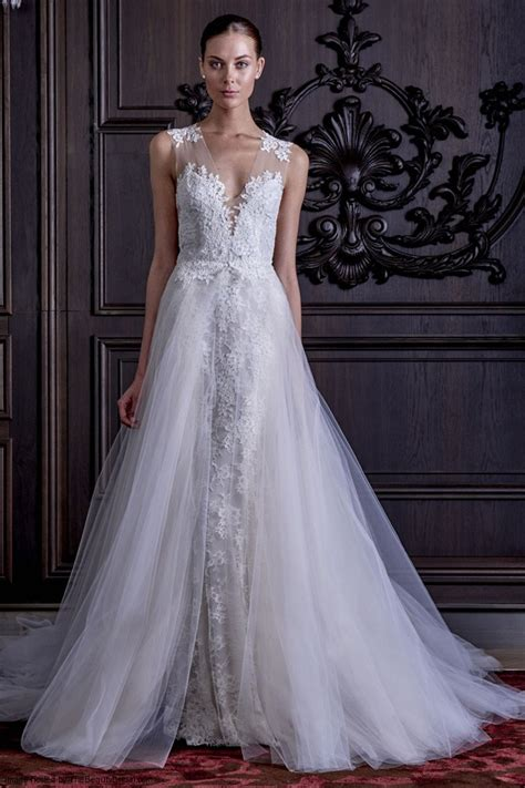 Monique Lhuillier's Spring 2016 Wedding Dress Collection