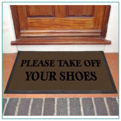 take your shoes doormat doormats made from recycled tires