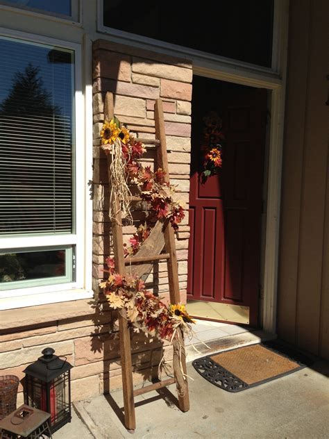 Finally found something to do with the old ladder from the