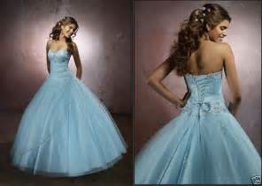 blue wedding gown blue corset wedding dress with gown silhouette sang maestro