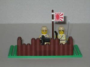 lego custom minifig ww japanese modern warfare machine