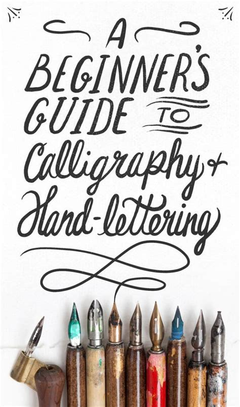 tips  learn calligraphy hand lettering scrap booking