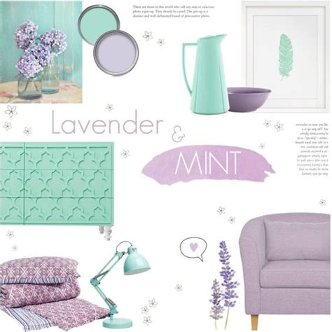 lavender mint green   silla  polyvore featuring