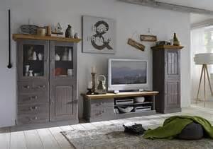 wohnzimmer kiefer wohnwand tv wand wohnzimmer set vitrine schrank tv board kiefer massiv landhaus wohnzimmer