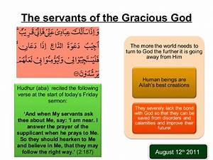 Friday Sermon delivered by Hazrat Mirza Masroor Ahmed (ABA ...