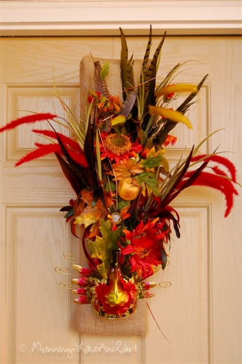 thanksgiving wreaths ideas thanksgiving wreath grinninglikeanidiot thanksgiving ideas pinte