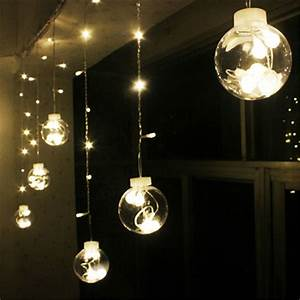 M battery powered led starry fairy string light lamp