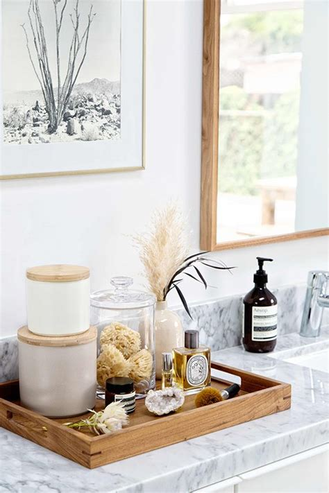 bathroom counter decor ideas best 25 bathroom tray ideas on bathroom sink