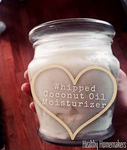 NATURAL Whipped Coconut Oil Moisturizer Non Greasy