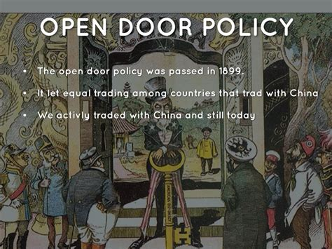open door trading imperialism timeline by benson