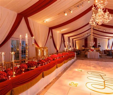 Regal Red & Gold Wedding Red gold wedding Gold wedding