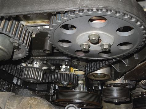 timing belt service  cvvt   simple anymore