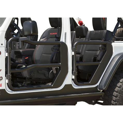 rugged ridge  front tube doors   jeep wrangler jl