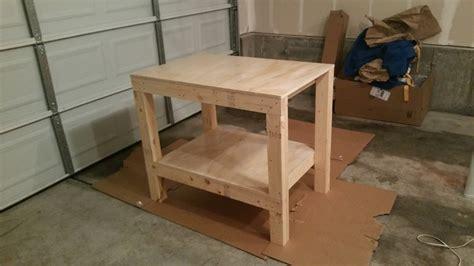 small garage workbench ana white