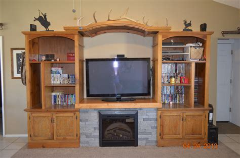 Diy Entertainment Center With Fireplace Diy Do It Your