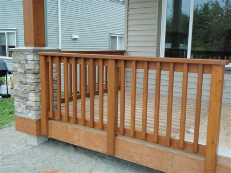 How To Build A Removable Handrail On Riser?  Avs Forum