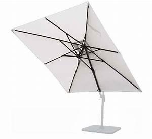 Toile Pour Parasol Déporté : toile de parasol d port salond t beige 3x3 m 54 salon d 39 t ~ Teatrodelosmanantiales.com Idées de Décoration