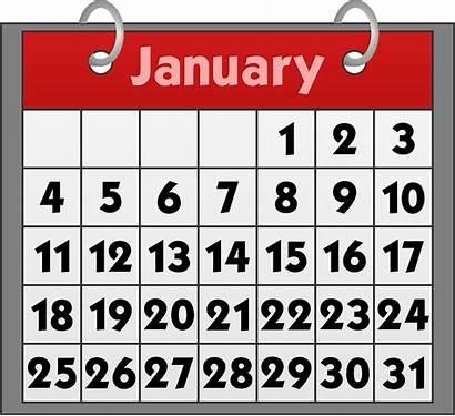 Calendar January Date Binder Month Pixabay Dates