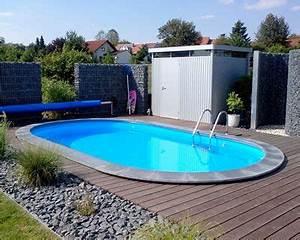 Pool Für Den Garten : ovalpool stahlwandbecken oval cool pools gardens pool im garten ovaler pool ~ Watch28wear.com Haus und Dekorationen