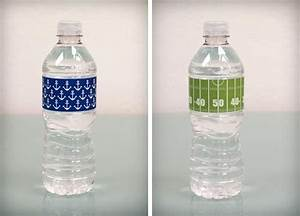 92 best images about boys39 football party on pinterest With best way to label water bottles