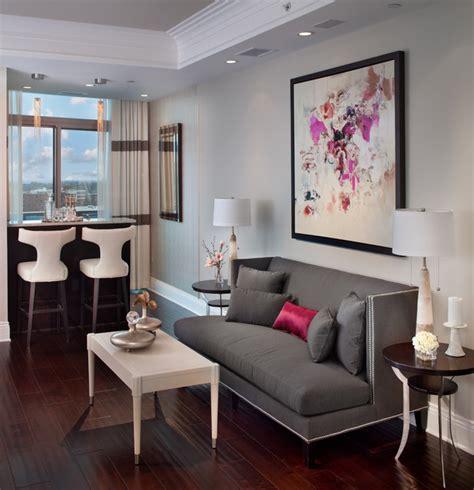 Turnberry Tower Arlington, VA   Contemporary   Living Room
