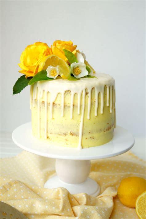 vegan lemon curd layer cake recipe  vegan
