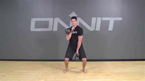 kettlebell clean gorilla exercise onnit muscle academy build bodyweight