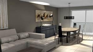 cuisine decoration salon moderne facebook deco maison With decoration salon sejour moderne
