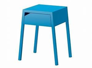 Table De Chevet Bleu : 50 tables de chevet pour tous les styles elle d coration ~ Preciouscoupons.com Idées de Décoration