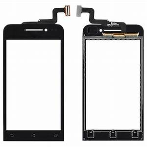 Touch Panel For Asus Zenfone 4    A450cg    T00q  Black