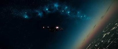 Space Citizen Ultra Ultrawide Star Spaceship Planet