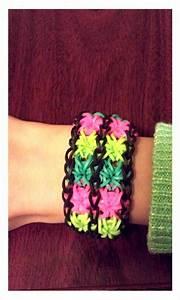 The Double Starburst bracelet. I made up the way u should ...