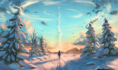 Digital Scenery Wallpaper by Winter Wallpapers Photos And Desktop Backgrounds Up To 8k