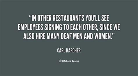 restaurant employee positive quotes quotesgram