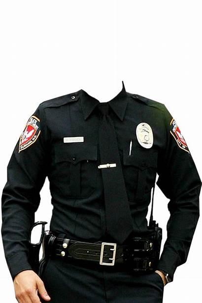 Policeman Frame Suit Pngimg