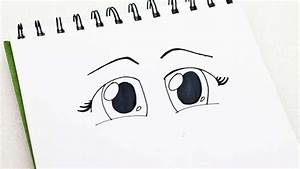 Drawing Of Girl With Cute Eyes How To Draw Anime Eyes ...
