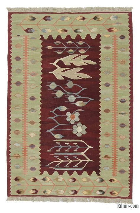 turkish kilim rugs k0020798 green new turkish kilim rug