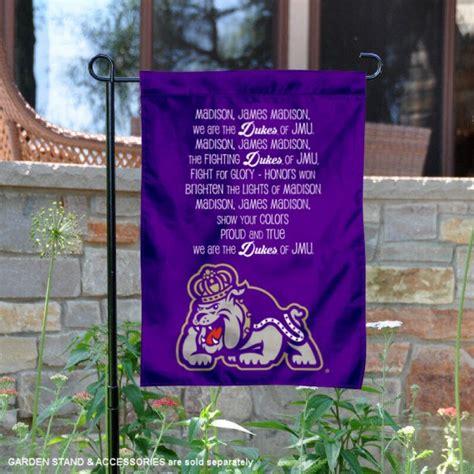 James Madison Dukes Jmu Fight Song Garden Banner And Yard
