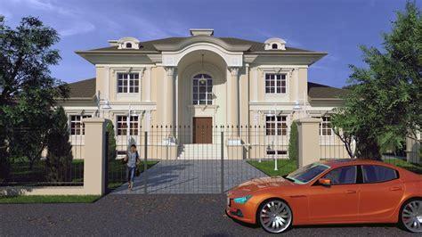 Free 3D Models   HOUSES   VILLAS   Classic Villa   by