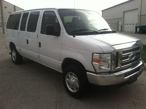 Buy Used 2012 Ford E350 Xlt~12 Passenger Van~super Clean