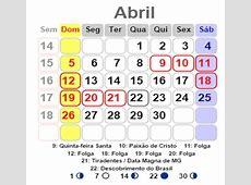Calendário 2016 de Brasil para imprimir vários modelos e