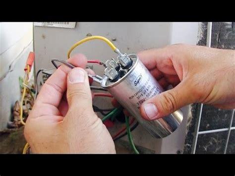 ac fan compressor  working   repair replace