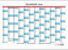 KALENDARZ 2014, 2015, Calenwebcom